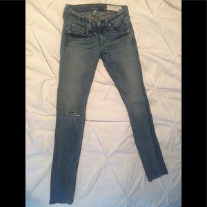 Rag& Bone Skinny Jeans 👖 size 25